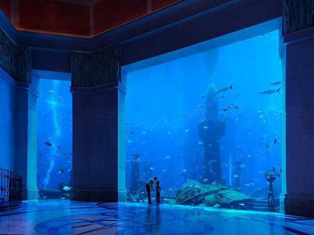 underwater hotel dubai 21 Atlantis: Dubais underwater hotel